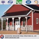 Sinoacme는 강철 구조물 축사 저장 헛간을 조립식으로 만들었다