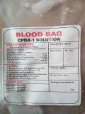 Saco de sangue descartável médico de PVC