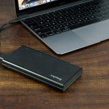 Multi USB schließt eine 15000 Milliamperestunden-Energien-Bank für Laptop an den Port an