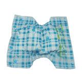 Tipo azul tecido do Chequer do bebê do fluff das fitas dos PP bom