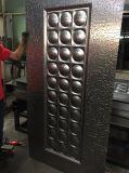 ヨーロッパ規格の平板のパネルデザイン鋼鉄外部ドア型