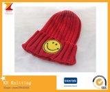 Chapéu bonito de 2016 miúdos mornos do inverno com face de sorriso