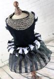 Design Dog Party Vêtements Luxe bijoux Neck Uniform Pet Dress