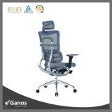 عمل جيّدة إرتفاع ظهر اعملاليّ [إإكسكتيف وفّيس] كرسي تثبيت متحمّل جلد مرود خابور مصعد شبكة كرسي تثبيت مع مسند رأس