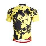 Куртка спортов способа покрывает желтый цвет Reathable людей задействуя Джерси