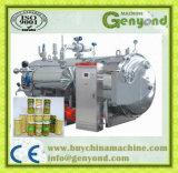 Agua caliente calefacción a vapor esterilizador tipo spray