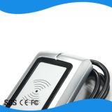 Leitor ao ar livre do smart card de Wiegand RFID do metal IP66