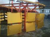 Ligne d'enduit automatique de poudre de qualité pour l'enduit électrostatique