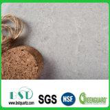 Pedra Polished de quartzo do silicone para a parte superior da vaidade do banheiro