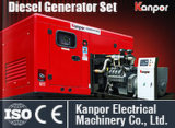 A Cummins 4BTA3.9-G2 40kw 50kVA conjunto gerador a diesel com marcação BV ISO9001Kanpor silent Abrir Grupo Gerador