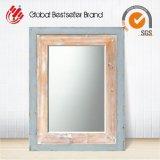 2017 Novos itens Espelho de parede de madeira ecológica estilo vintage (LH-W17035)