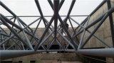 Estructura de acero para la planta de tratamiento de aguas residuales