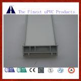 파란 백색 PVC 포인터 UPVC Windows와 문을%s 플라스틱 건축재료
