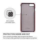 iPhone 6 Kreditkarte Identifikation-Halter kerbt Shockproof schützenden Kasten