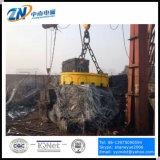 Levantamento de sucata magneto com 75% do Ciclo de trabalho para a instalação da grua MW 5-90 L/1-75