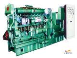 200KW Vitesse moyenne du groupe électrogène marins entraînée par moteur