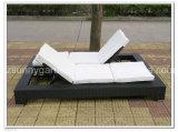 Сад плетеной Lounge кровать (SG3026)