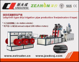 Labyrinth Type Drip Irrigation Pipe Production Line (extrusão de 4 fitas)