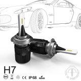 터빈 24W 3600lm 최고 질을%s 가진 B6 H7 차 LED 헤드라이트