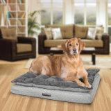 Suelo de la estera del perro del colchón de la base del perro de la espuma de la memoria de los accesorios del animal doméstico