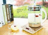 1.5L'épaississement de la santé Pot, verre, bouilloire électrique en verre multifonction