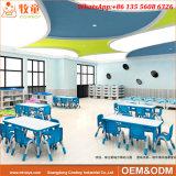 2017의 새로운 디자인 아이 취학 전 가구 테이블 및 의자는 놓았다