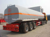 semi-remorque de camion-citerne de carburant de l'acier inoxydable 42000L