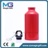 中国の工場によって作られる昇進の金属の飲み物のびん