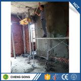 중국 기계를 회반죽 자동 콘크리트 블록 벽 연출