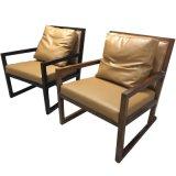 (CL-1127)ホテルのレストランの家具の木製のラウンジの余暇の椅子