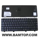 Teclado de notebook SP preto de Layout para HP Compaq CQ40 CQ45