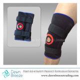 Parentesi graffa provvista di cardini di stabilizzazione di sostegno del ginocchio con rivestimento molle
