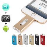 iPhone를 위한 OTG 저장 USB 섬광 드라이브 기억 장치 지팡이