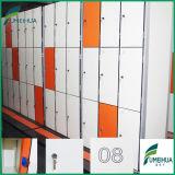 18 Schließfach des Tür-Mischfarben-Schlüssel-HPL für öffentliches Gebäude