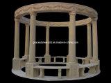 El Pavilion, pabellón de piedra, mármol, Gazebo Pabellón (GS-G-043)