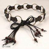 Ceinture d'attache de boucle, ceinture de mode (YD-5498)