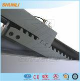 Levage de ciseaux de plate-forme de casier d'air de Pnematic long avec le véhicule de roulement