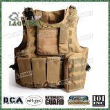 De tactische volledig Regelbare Politie van de Camouflage van Airsoft van het Vest van het Gevecht Molle