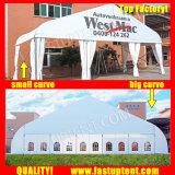 スポーツ・イベント15X50m 15m x 50mのためのカーブの玄関ひさしのテント50 50X15 50m x 15mによって15