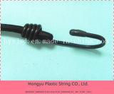 Melhor qualidade e baixo preço 8mm White Elastic Bungee Cord com plástico final