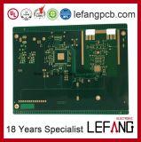 10 de circuito da placa camadas do fabricante do PWB com conformidade de RoHS