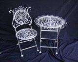 金属のテーブルおよび椅子(XF8003)