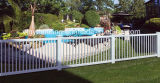 Reti fisse bianche di plastica/PVC Valla De Jardin del raggruppamento del PVC