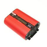 500W USB와 LCD 디스플레이를 가진 AC 220V 차 변환기에 자동 힘 변환장치 DC 12V