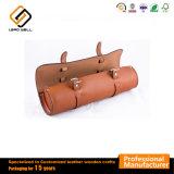 Vino de cuero de PU marrón de la seguridad de la bolsa de embalaje Caja de regalo