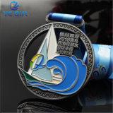 Marathon olympique personnalisé / Voilier médaille de métal de souvenirs en Chine (MD07-A)