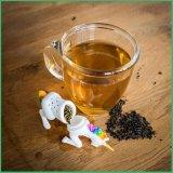 Infuser le thé en silicone de haute qualité de la crépine de thé avec Unicom forme