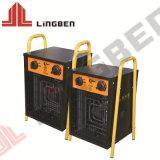 Zeer efficiënte draagbare PTC elektrische keramische warmteluchtventilator Verwarming
