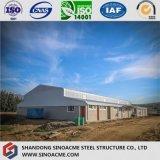 Große Überspannungs-Stahlkonstruktion für Werkstätten