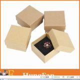 Rectángulo de regalo modificado para requisitos particulares de la joyería del papel de embalaje de la impresión de la insignia (HF)